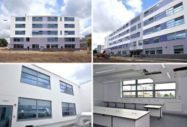 Dortech Architectural Systems Ltd. First EFA Framework School for Bowmer & Kirkland Completes!