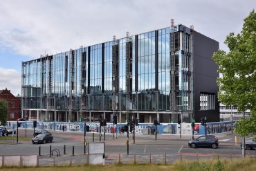 Dortech Architectural Systems Ltd. Works Well Underway at University of Central Lancashire